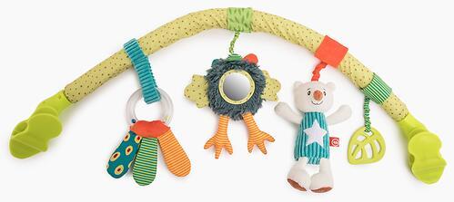 Дуга с игрушками Happy Baby Весёлая Горка (1)