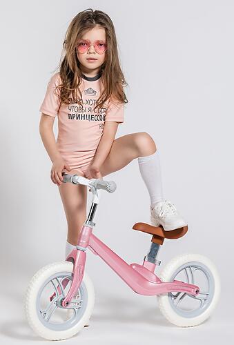 Беговел Happy Baby Carbon Pink (7)