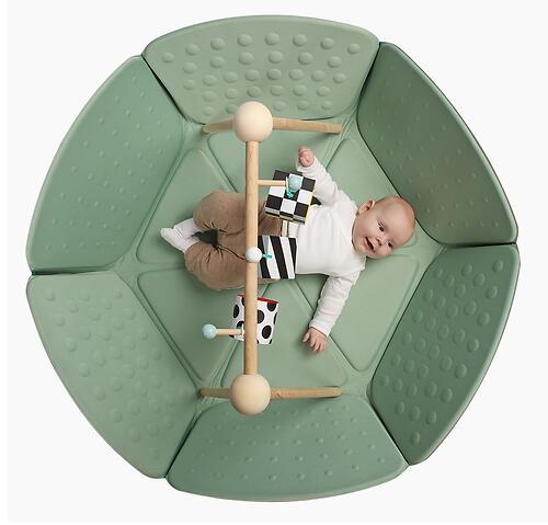 Коврик-трансформер Happy Baby Goodzone Mint-Brown (12)