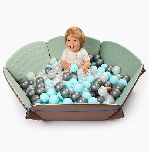 Коврик-трансформер Happy Baby Goodzone Mint-Brown (15)