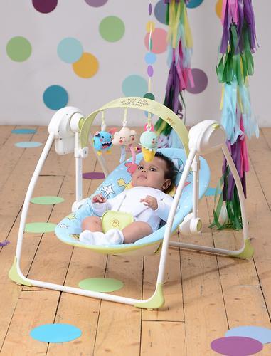 Электрокачели Happy Baby Jolly Green (16)