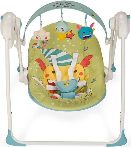 Электрокачели Happy Baby Jolly Green (10)