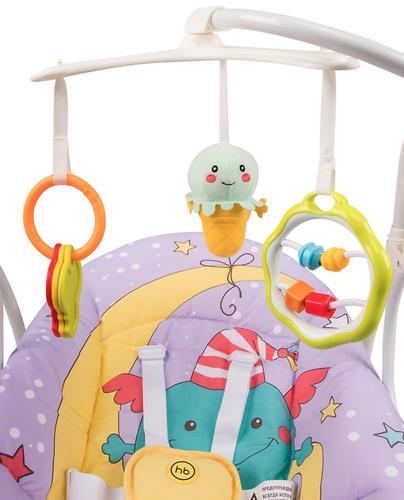 Электрокачели Happy Baby Jolly V2 Green (9)