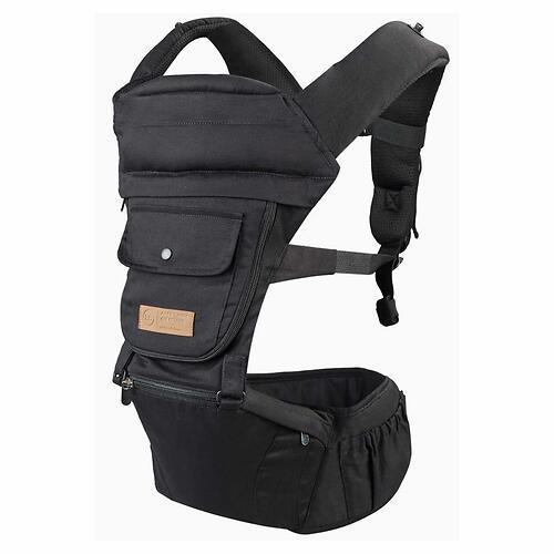 Рюкзак-переноска Happy Baby BABYSEAT 40029 Black (12)