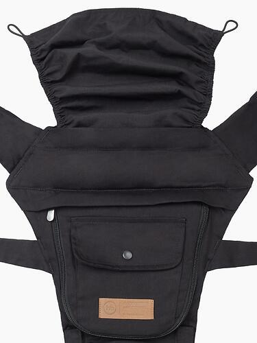 Рюкзак-переноска Happy Baby BABYSEAT 40029 Black (13)