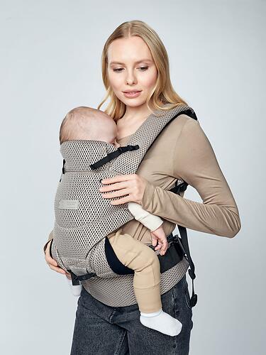 Рюкзак-переноска Happy Baby BABYTOUR 40030 Light Grey (12)