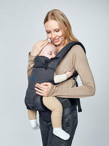 Рюкзак-переноска Happy Baby BABYTOUR 40030 Navy Blue (12)
