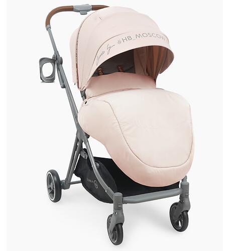 Коляска Happy Baby Luna Pink (8)