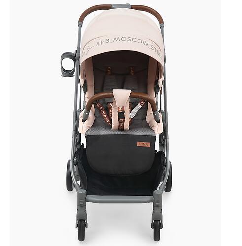 Коляска Happy Baby Luna Pink (7)