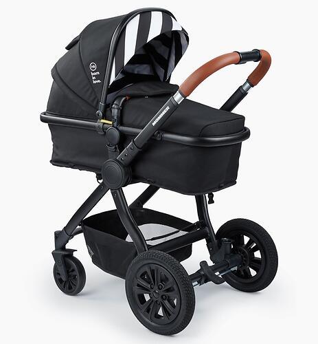 Коляска-трансформер Happy Baby Mommer Black (11)
