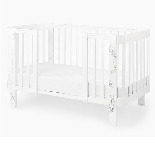 Комплект расширения для люльки раздвижной Happy Baby White (4)