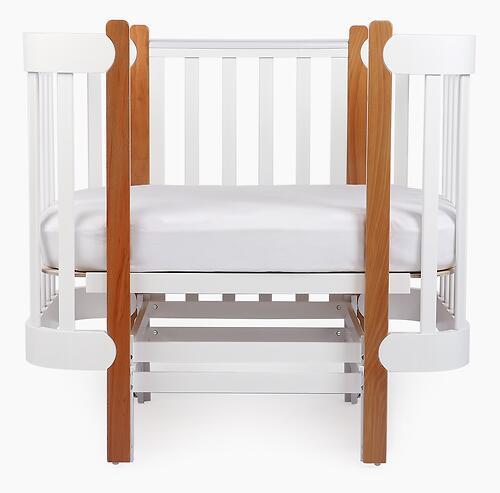 Уценка! Кроватка-трансформер Happy Baby Mommy Lux (Мг) (21)