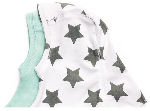 Набор шапочек-шлемов Happy Baby Stars 2шт (5)