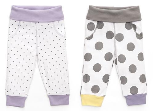 Набор трикотажных брюк Happy Baby 2шт (8)