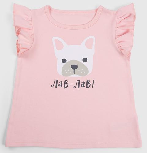 Майки для девочек Happy Baby T-Shirt Set 2шт (8)