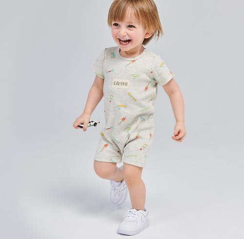 Полукомбинезон для мальчика Happy Baby Romper Set 2шт (12)