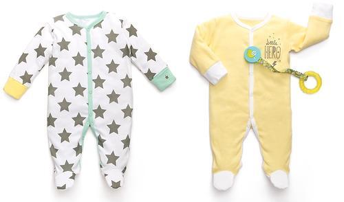 Набор из двух пижам Happy Baby Stars (6)