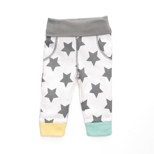 Набор трикотажных брюк Happy Baby с высоким пояском 2шт (10)