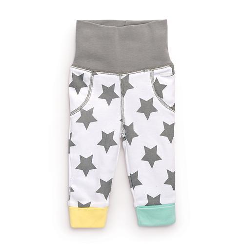 Набор трикотажных брюк Happy Baby с высоким пояском 2шт (11)