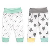 Набор трикотажных брюк Happy Baby с высоким пояском 2шт