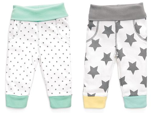 Набор трикотажных брюк Happy Baby с высоким пояском 2шт (8)