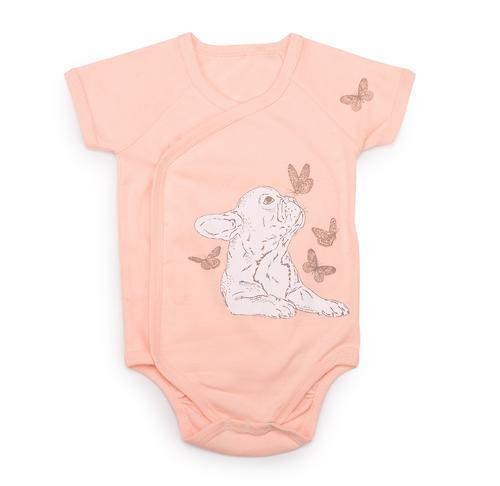 Боди с коротким рукавом Happy Baby в наборе с нагрудным фартуком арт.90024 (6)