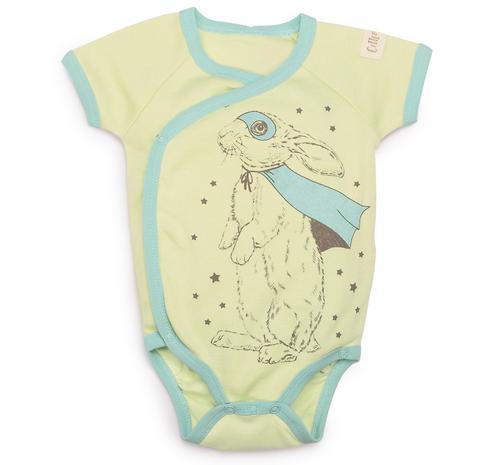 Боди с коротким рукавом Happy Baby в наборе с нагрудным фартуком арт.90025 (6)