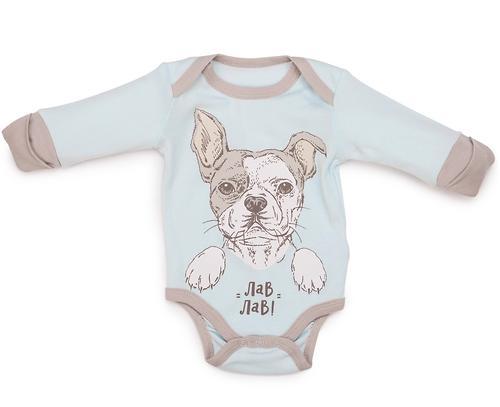 Боди с длинным рукавом Happy Baby набор 2шт арт.90026 (8)