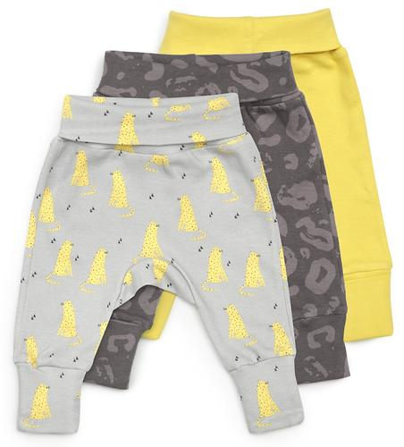 Трикотажные брюки Happy Baby набор 3 шт 90052 (5)