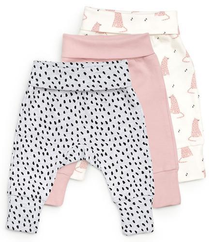 Трикотажные брюки Happy Baby набор 3 шт 90053 (5)