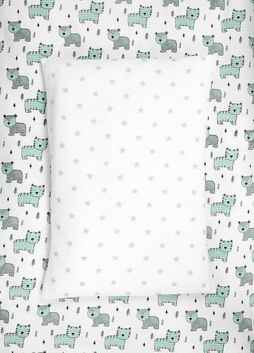 Комплект постельного белья Happy Baby 2 предмета наволочка+пододеяльник (5)