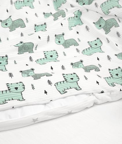 Комплект постельного белья Happy Baby 2 предмета наволочка+пододеяльник (7)