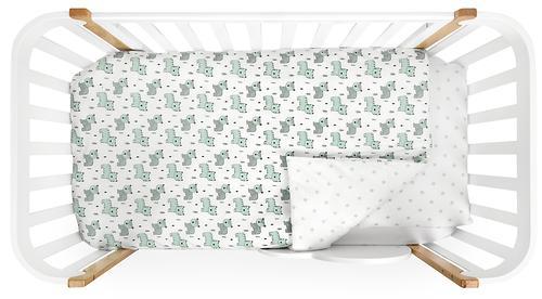 Комплект постельного белья Happy Baby 2 предмета наволочка+пододеяльник (8)