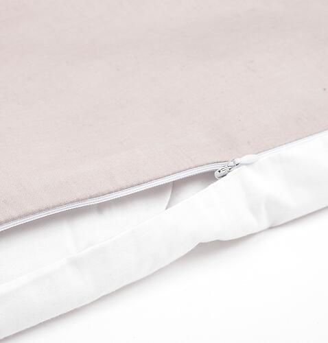 Комплект постельного белья Happy Baby 2 предмета наволочка+пододеяльник White-Beige (8)