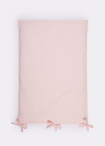 Комплект постельного белья Happy Baby 2 предмета наволочка+пододеяльник White-Pink (7)