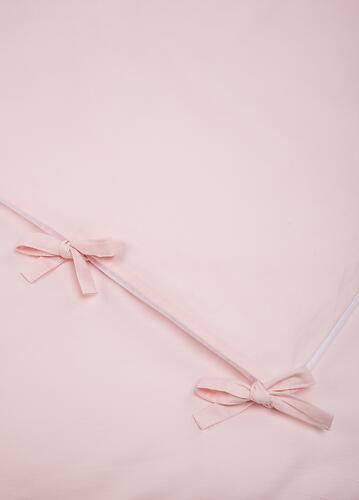 Комплект постельного белья Happy Baby 2 предмета наволочка+пододеяльник White-Pink (9)