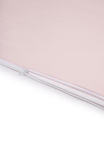 Комплект постельного белья Happy Baby 2 предмета наволочка+пододеяльник White-Pink (10)