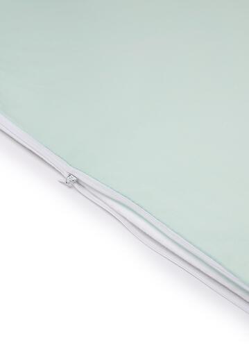 Комплект постельного белья Happy Baby 2 предмета наволочка+пододеяльник White-Mint (8)