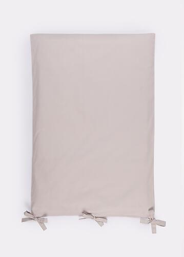 Комплект постельного белья Happy Baby 2 предмета наволочка+пододеяльник White-Grey 87514 (7)