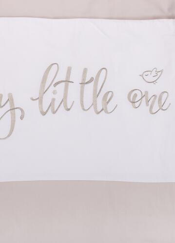 Комплект постельного белья Happy Baby 2 предмета наволочка+пододеяльник White-Grey 87514 (8)
