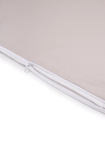 Комплект постельного белья Happy Baby 2 предмета наволочка+пододеяльник White-Grey 87514 (10)