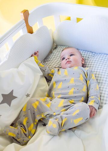 Набор бортиков Облачко Happy Baby 3 шт Белый (13)