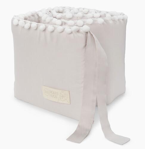 Бортик в кроватку Happy Baby 87534 Grey (5)
