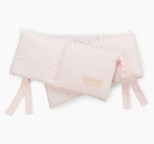Бортик в кроватку Happy Baby 87534 Pink (4)