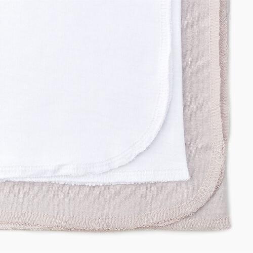 Комплект пелёнок Happy Baby 90104 Beige & White (7)