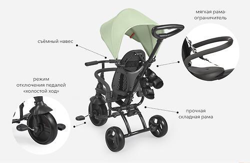 Велосипед Happy Baby Mercury Black (33)