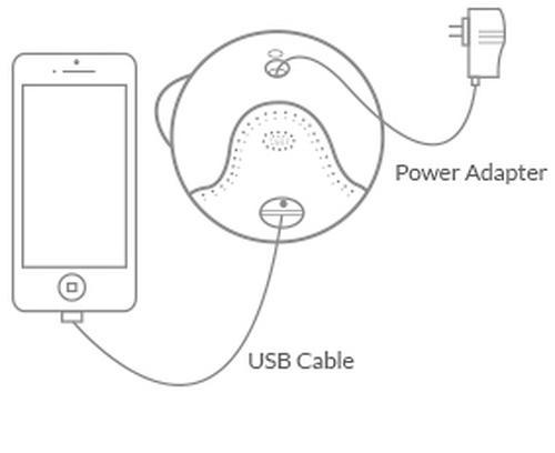 Видеоняня iBaby Monitor M6S с датчиком качества воздуха (14)