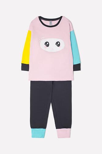 Пижама Crockid (К 1543/холодно-розовый+темно-серый) (3)