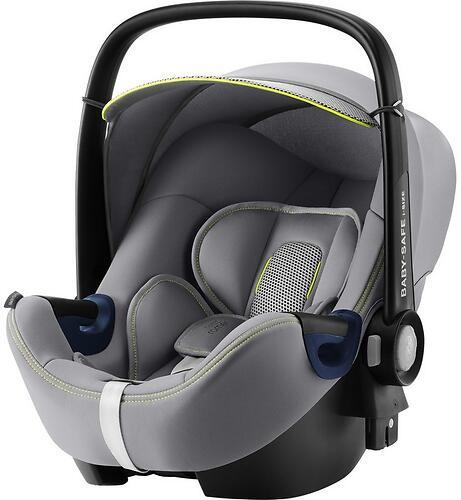 Автокресло Britax Römer Baby-Safe² i-Size + база FLEX Cool Flow - Silver (9)