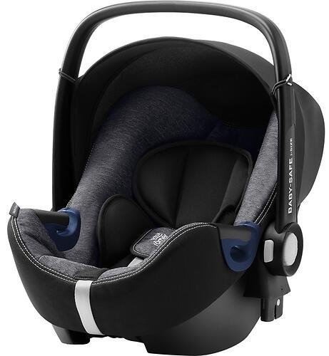 Автокресло Britax Römer Baby-Safe² i-Size + база FLEX Graphite Marble (8)